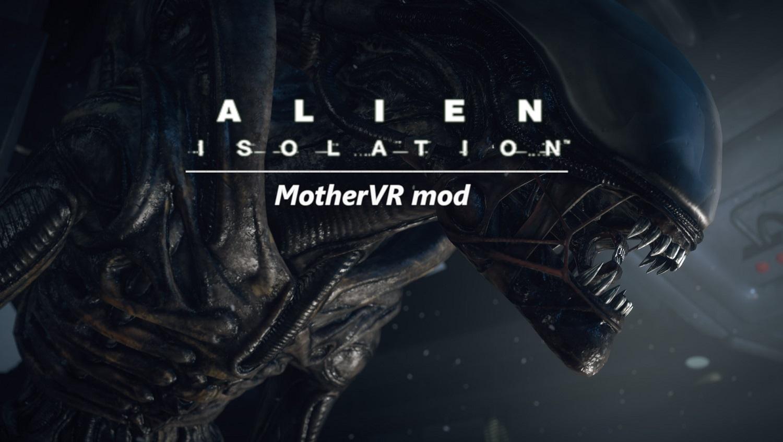 mod VR pour Alien ISOLATION