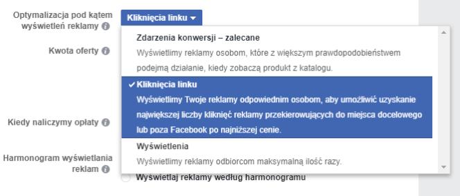 Optymalizacja reklamy FB