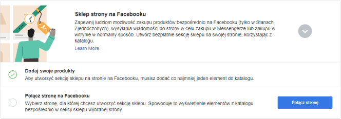 Tworzenie sklepu na FB