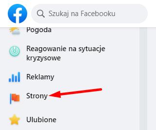 Zarządzanie stronami na FB