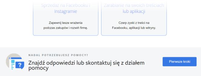Facebook – pierwsze kroki