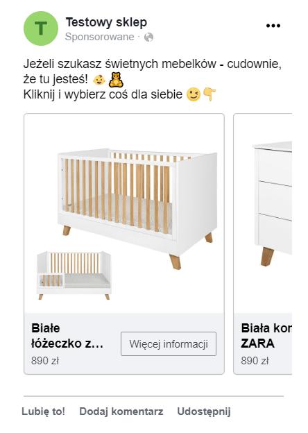 Karuzela na Facebooku