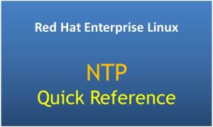 NTP Quick Reference