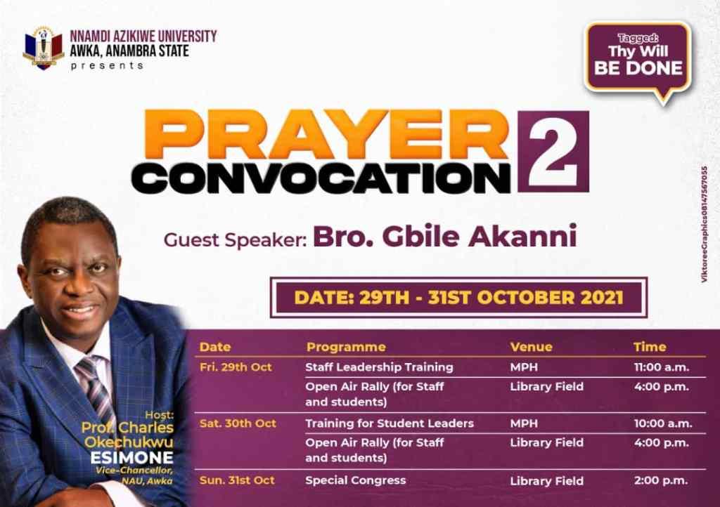 PRAYER CONVOCATION 2