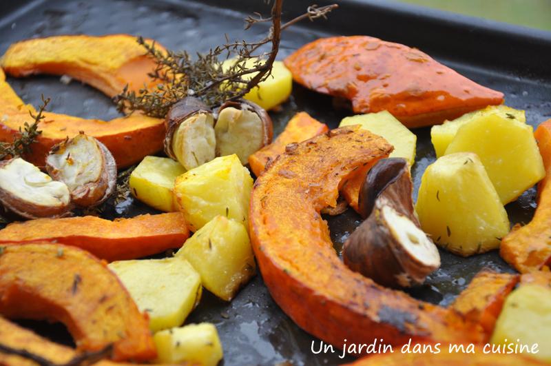 légumes rôtis au four un jardin dans ma cuisine
