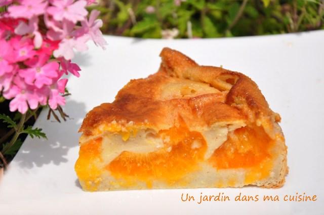 clafoutis abricots lait végétal un jardin dans ma cuisine (2)