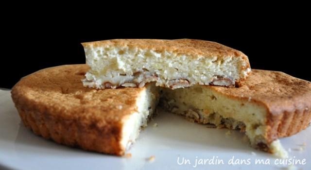 gâteau aux blancs d'oeufs un jardin dans ma cuisine
