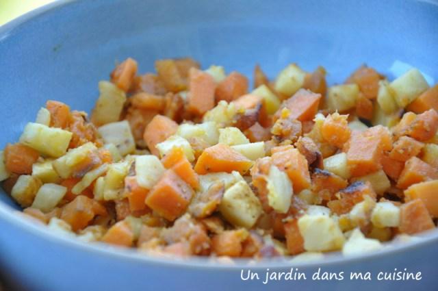 Mr céleri et sa copine patate douce un jardin dans ma cuisine
