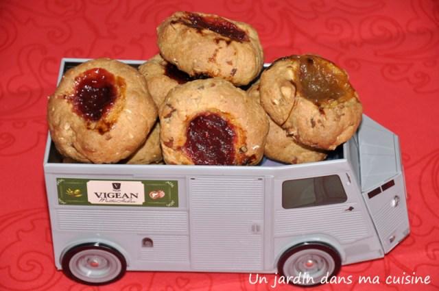 biscuits amandes érable huile de noix de coco