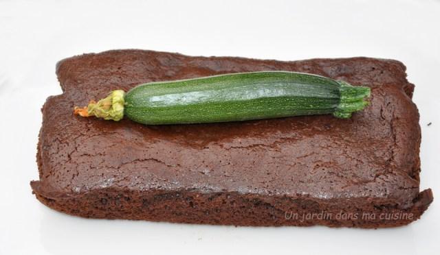 gâteau chocolat courgette sans beurre ni farine