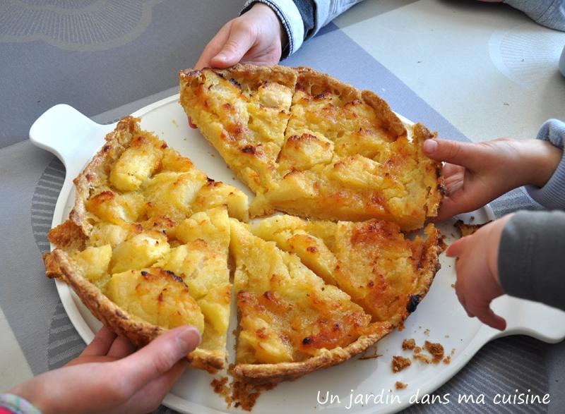 tarte aux pommes maison