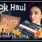 Book Haul : Novembre 2013