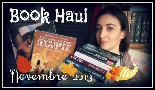 MissMymooReads - Book Haul novembre 2013 cover