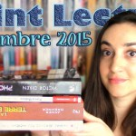 Point Lecture : Septembre 2015 (Part. 2)