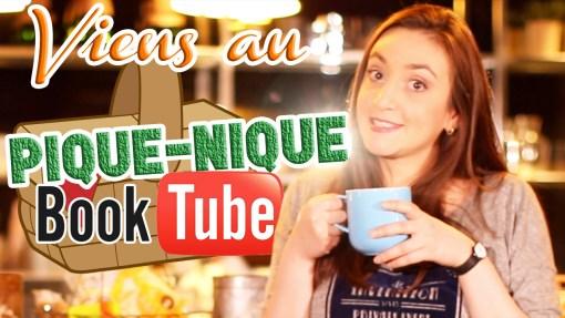 Pique-nique BookTube à Livre Paris 2016