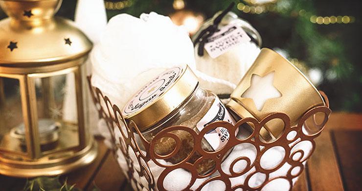 DIY Cadeau Nol Panier Garni Home Sweet Home