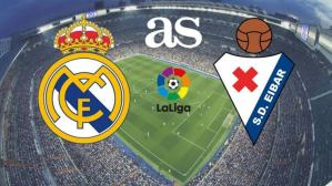 Real Madrid defeats Eibar comfortably to close the gap to Barcelona on LaLiga return