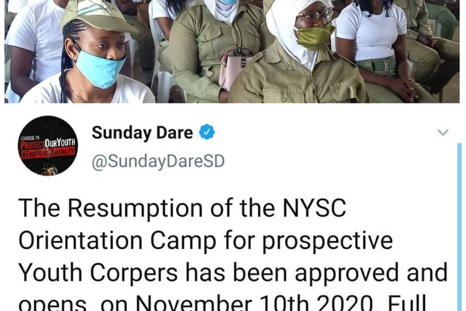 NYSC reopens