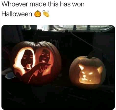 Funny Halloween Pumpkin Carvings: 13 Saturday Good Morning Memes