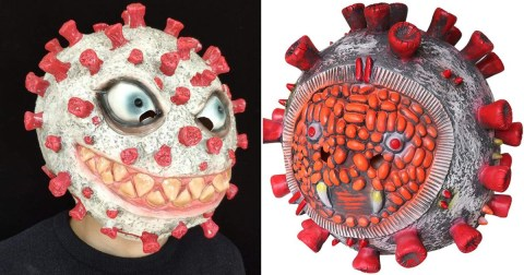 Amazon pulls down distasteful Corona Halloween mask and Corona latex horror mask for making light of the covid-19 virus.