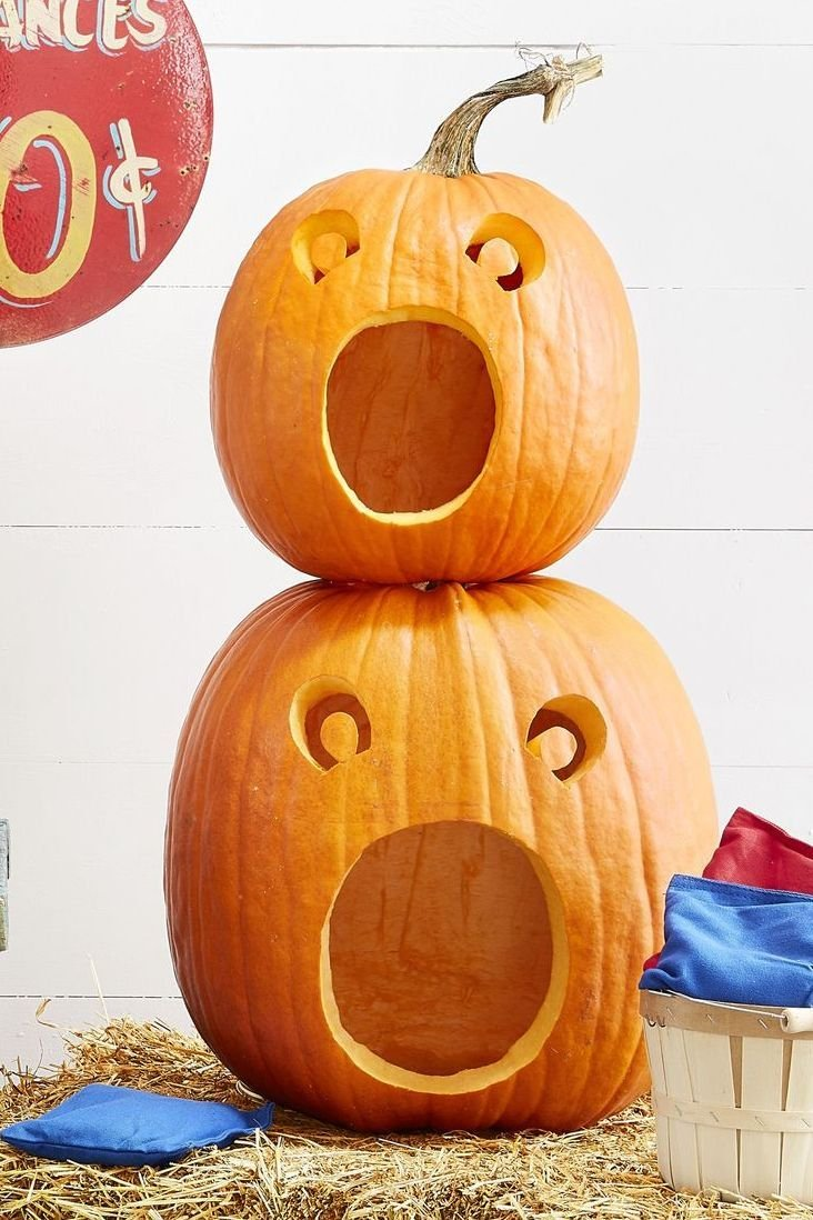 funny pumpkin carving ideas screaming 15940664343349045434350148708