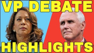 US VP Debate 2020: Pence Fly Memes vs Harris Laughing Face