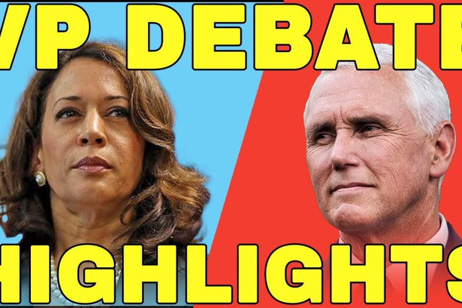 US VP Debate 2020: Mike Pence Fly Memes vs Kamala Harris Weird Facial Expressions