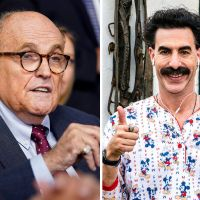 76-year-old Rudy Giuliani pranked, filmed reaching into Trousers in Compromising Scene with the Daughter of Borat in Borat 2 [Videos]