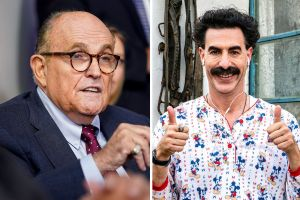 Movie fans eagerly await the Controversial Scene Featuring Rudy Giuliani in Borat 2
