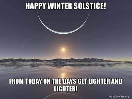 Happy Winter Solstice (Stargazers excited as Google doodle celebrates Great Conjunction)
