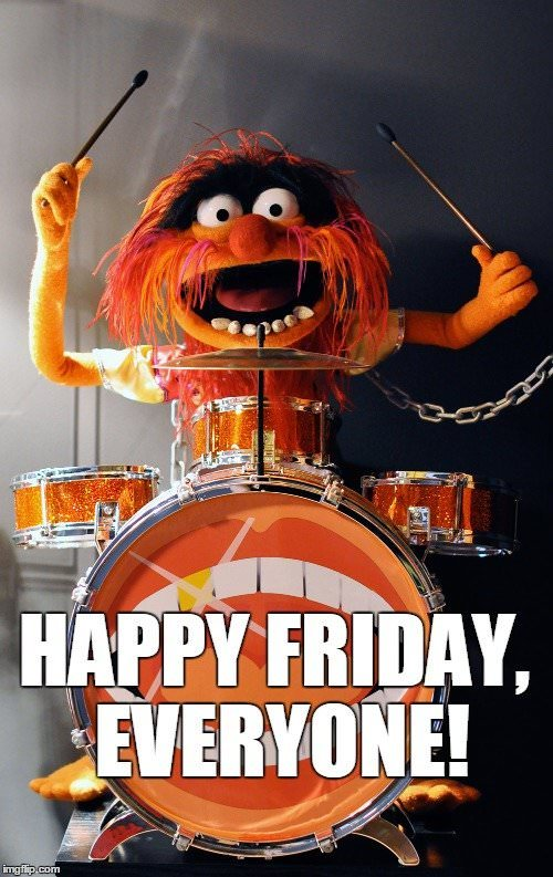 Happy Friday everyone. Funny meme with the mapet show monster