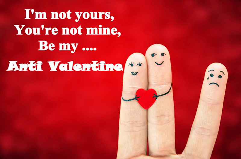 funny anti valentines messages
