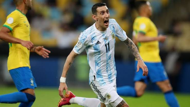 Read more about the article Argentina vs Brazil: Angel Di Maria hands Argentina an elusive national trophy in almost 2 Decades (videos)