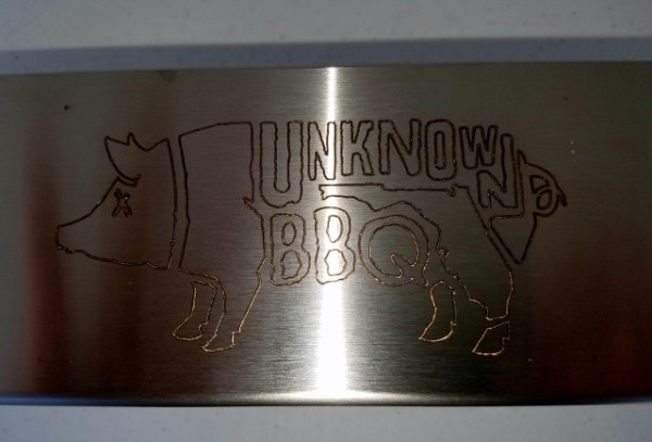 Close Up of the Unknown Pig Logo