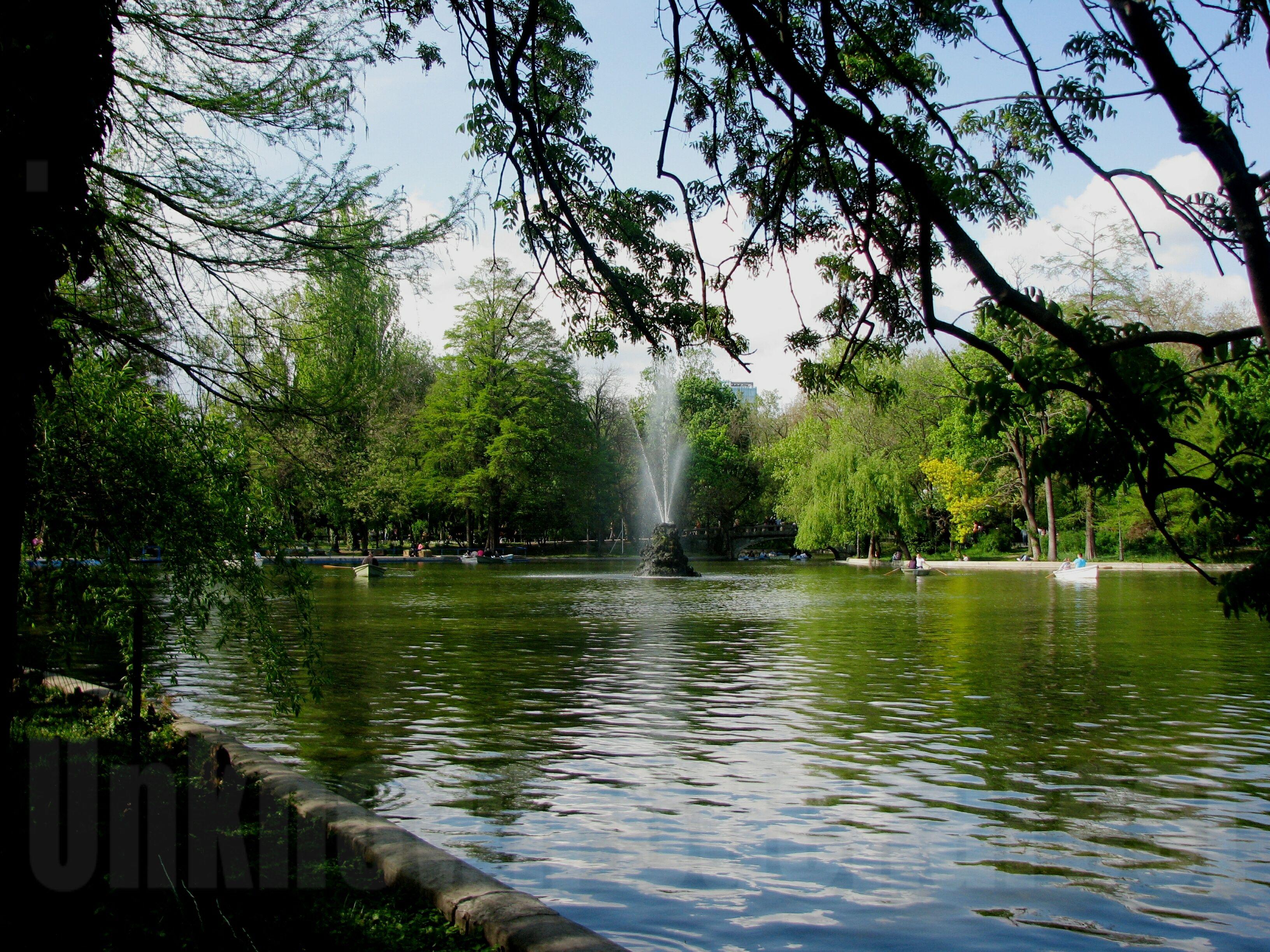Cismigiu Garden 1852 Bucharest Uncovered