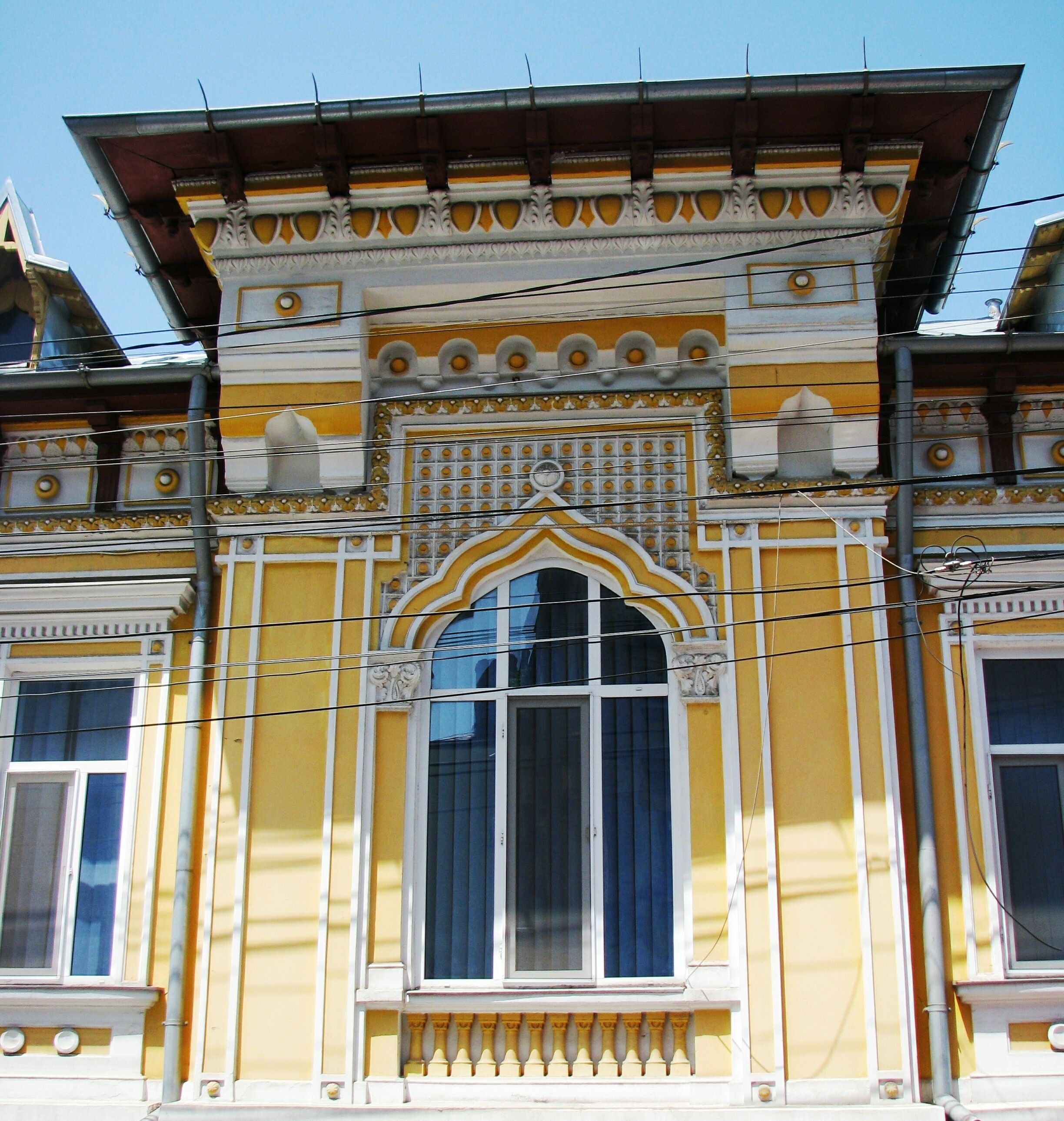 National Romantic And Neo Romanian Style House Windows In Bucharest 19 Bucharest Uncovered