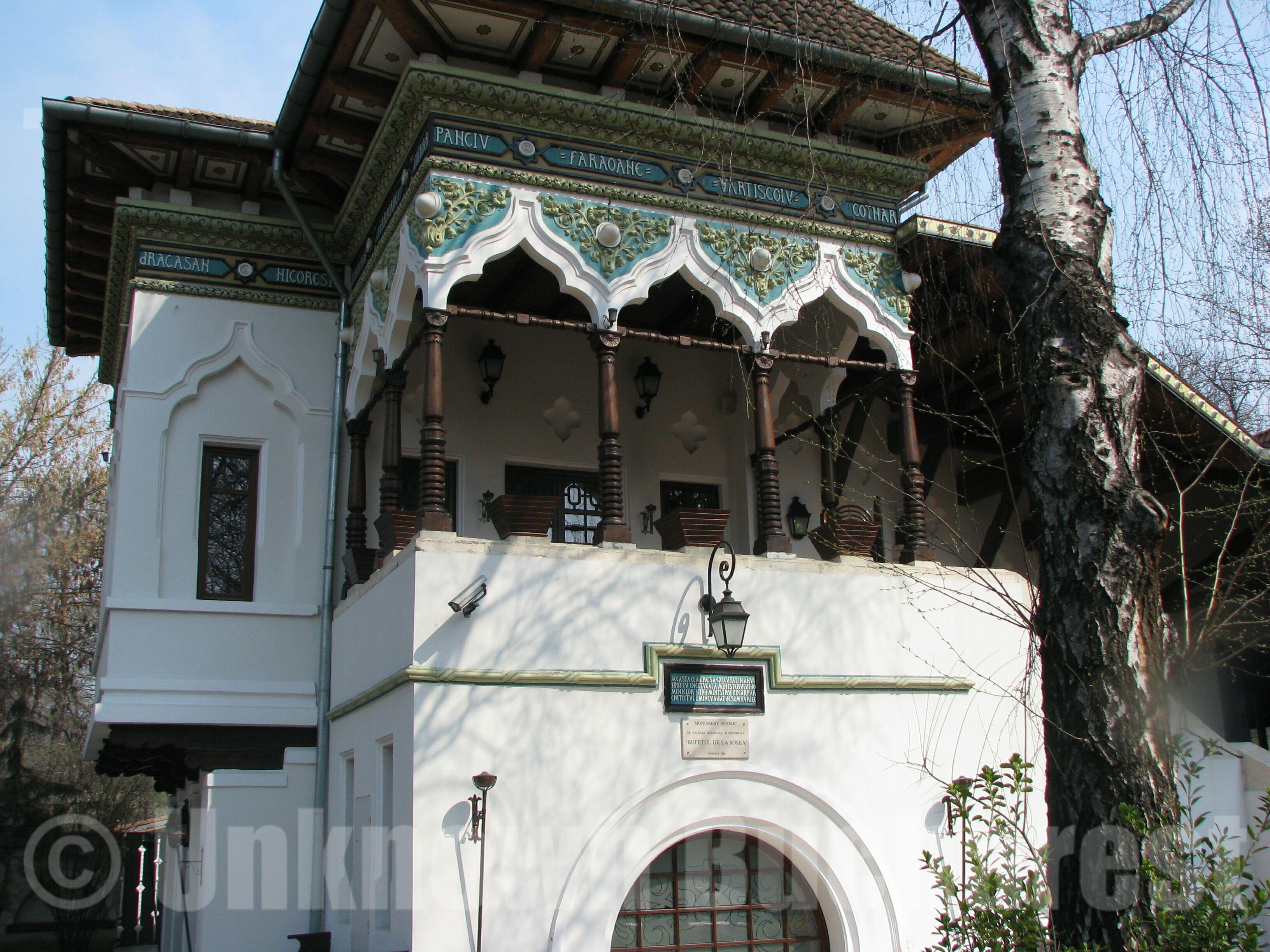 The Kiseleff Roadside Tavern 1892  Bufetul de la Sosea