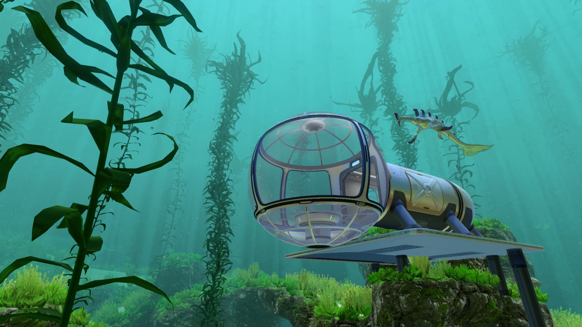 subnautica on steam with