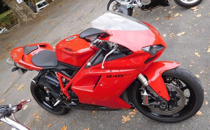 So eine Ducati wurde in Dresden gestohlen. Foto: Wiki/CC BY-SA 4.0/Cjp24