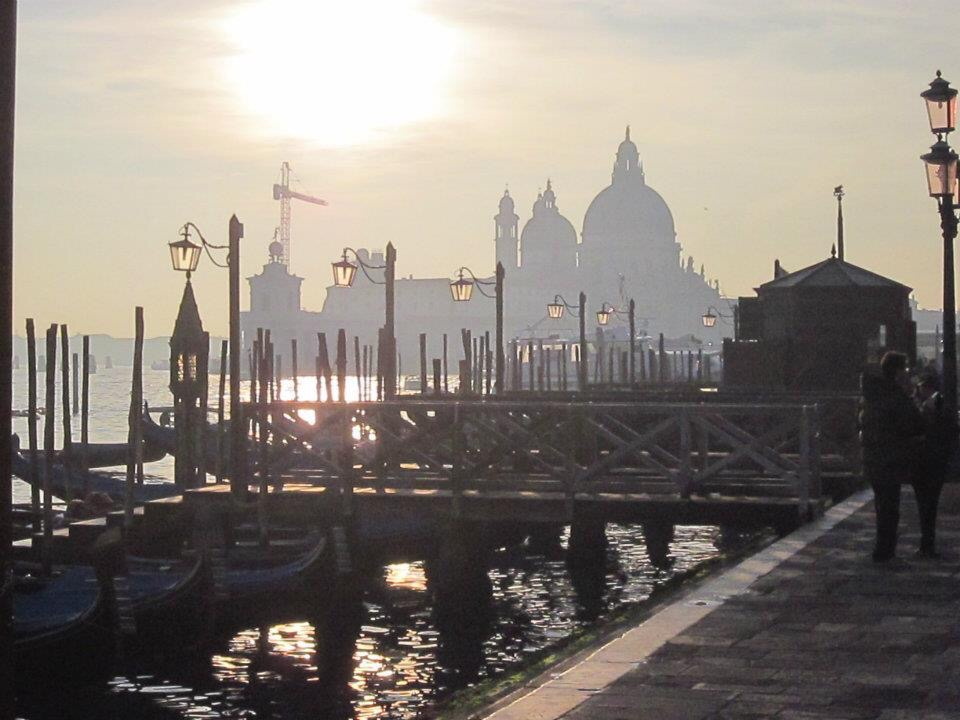 view fron san marco square in venice