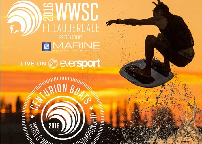 Centurion World Wake Surfing