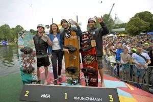 MUNICH MASH Wakeboard Rail & Air - Winners