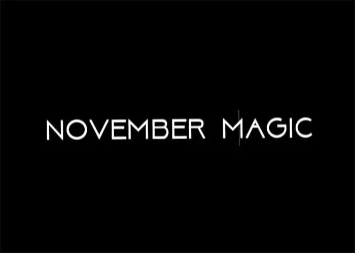 NOVEMBER MAGIC SIDEWAKE 2017