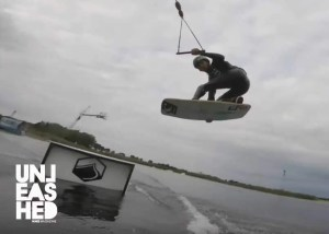 Wakeskate session James-matti