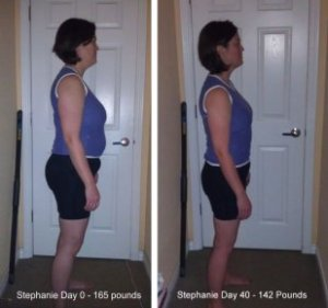 Stephanie lost 24 lbs SKB_40Day_Comparison