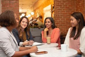 How do women do business