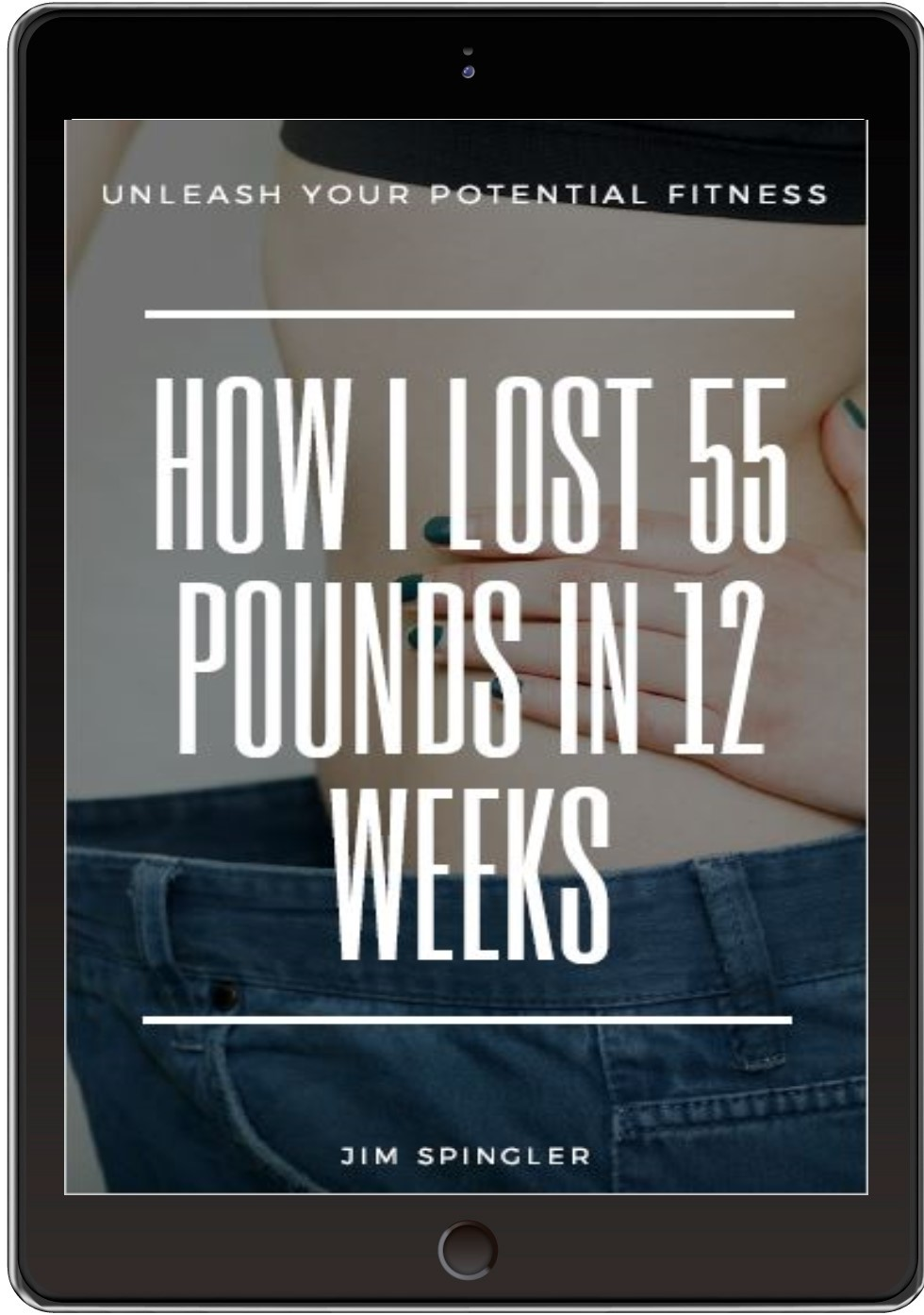 I lost 55 lbs Tablet cover pic