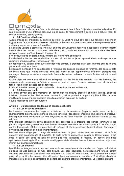 Règlement intérieur Domaxis (3)