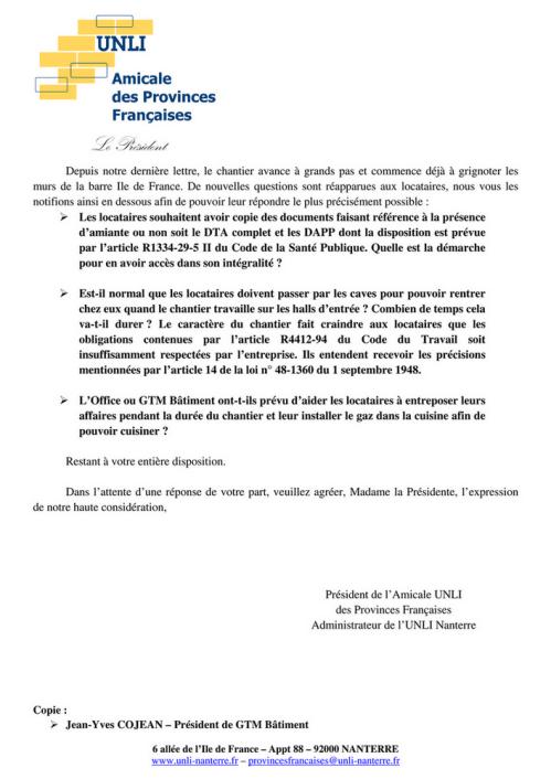 16-31&32 - Chantier Provinces Françaises (Lettre) (2)