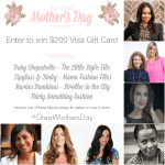{The Great Mother's Day Giveaway} Enter to win a $200 Visa Gift Card